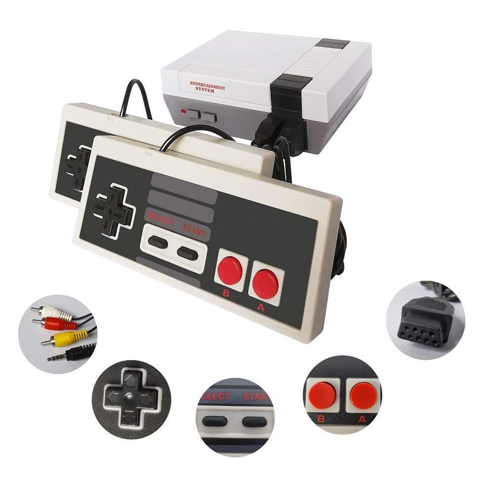 Ретро игровая консоль AV/HDMI NES Mini Classic Edition, 2 встроенных контроллера, 600 классических игр для Nintendo