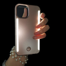 Phone Case For iPhone 11 Pro Max Anti fall 3 Generations Luxury Luminous LED Phone Case For iPhone X XS MAX XR  Protector Cover