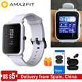 [Oficial] Xiaomi reloj inteligente Amazfit bip para hombres y mujeres, Huami amzfit bip, reloj inteligente con Bluetooth, frecuencia cardíaca de 45 días de espera IP68 + GPS