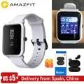 [Ufficiale] Xiaomi Amazfit bip Astuto Della Vigilanza Delle Donne Degli Uomini di Huami amzfit bip SmartWatch Bluetooth Frequenza Cardiaca 45 Giorni In Standby IP68 + GPS