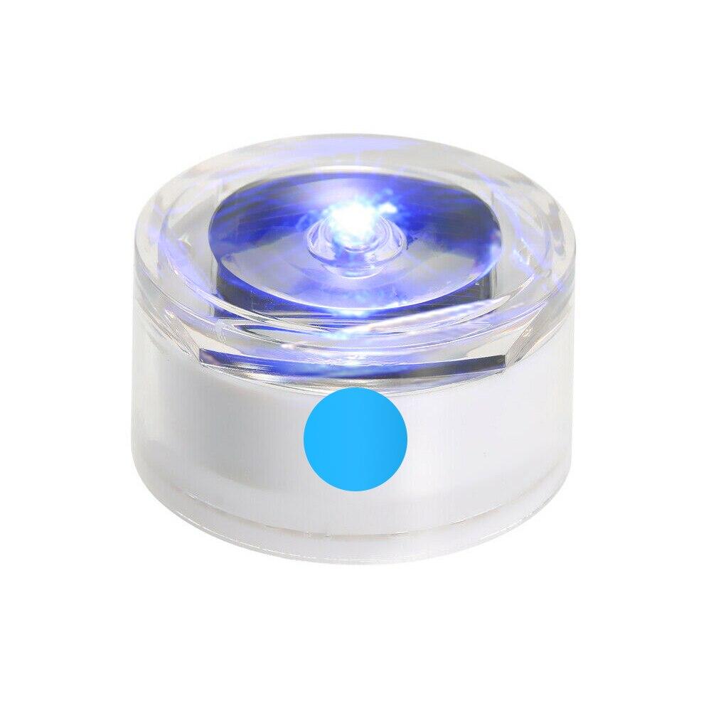 Солнечная Светодиодная лампа для подземного освещения, открытый наземный садовый троп, Напольный Пол, точечный пейзаж, зарытый свет IP67, водонепроницаемый - Испускаемый цвет: blue