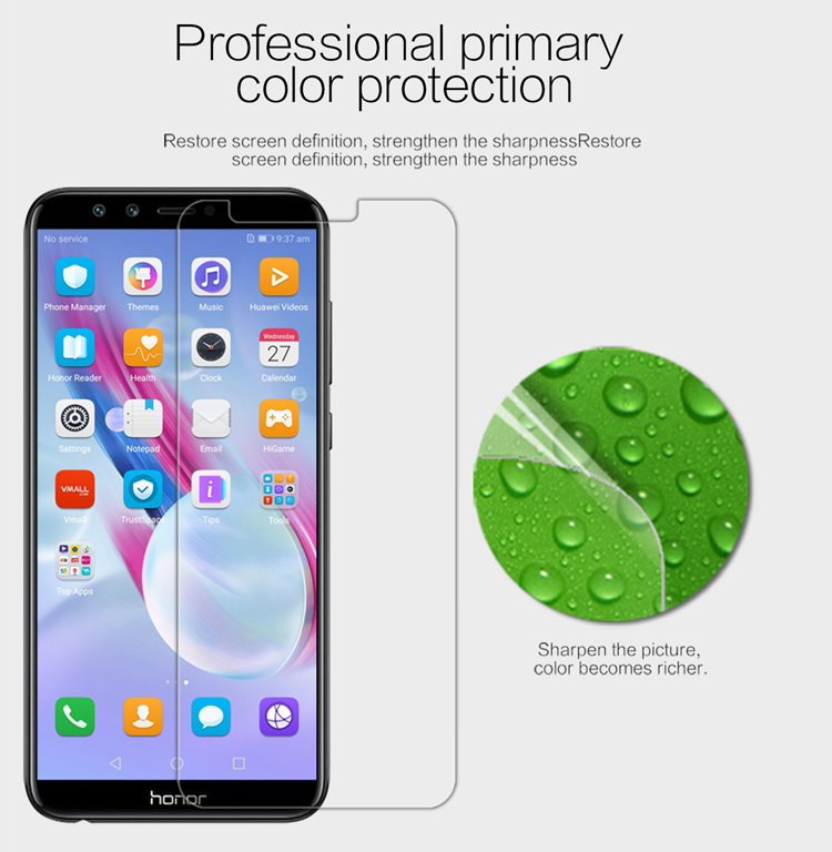 Screen Protector for Huawei <font><b>Honor</b></font> <font><b>9</b></font> <font><b>Lite</b></font> <font><b>NILLKIN</b></font> Super Clear/Matte Anti-Glare Soft PET <font><b>Honor</b></font> <font><b>9</b></font> <font><b>Lite</b></font> Protective Film image