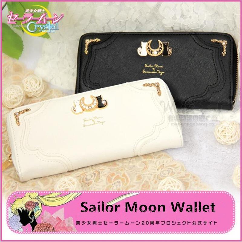 Japanese Cosplay Sailor Moon Anime Cute Bowknot Long Handbag Bag Wallet Purse