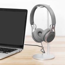 SeenDa Headphone Hanger Headset Stand Aluminium Alloy Holder Home Office Desktop Gaming Headphone Rack Earphone Bracket Metal