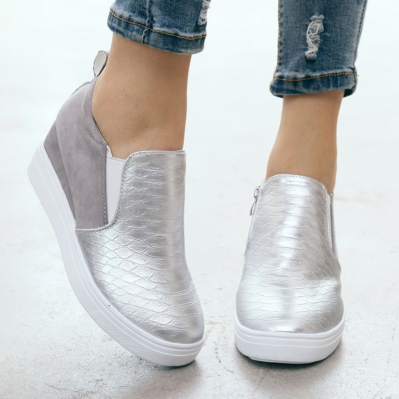 Oeak(Drop Shipping) 2019 Woman Casual Shoes Ladies'  Casual Shoes  Autumn Outdoor Accessional Size Shoes