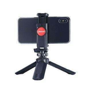 Image 4 - Ulanzi ST 06 360 תואר סיבוב אנכי סוגר טלפון קליפ קלאמפ מחזיק הר עם קר נעל עבור DSLR טלפון תמונה ניטור
