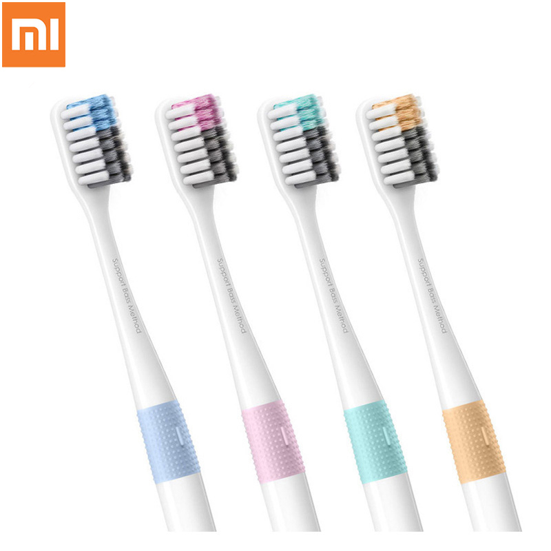 Xiaomi Doctor B Toothbrush Bass Method Sandwish-bedded better Brush Wire 4 Colors Including 1 Travel Box For xiaomi smart home image