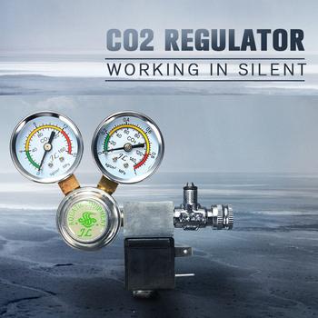 Nowy przyjazd wysokiej jakości Co2 sprzęt Regulator magnetyczny elektromagnetyczny dwa miernik licznik bąbelków DICI obsadzone akwarium tanie i dobre opinie