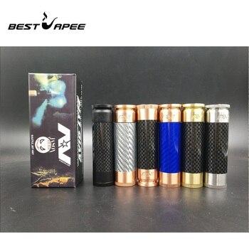 AV Complyfe Mech mod brass copper vape mod 510 Thread 25mm Diameter fit 18650 Battery fit RDA atomizer Mech mod kit vape pen