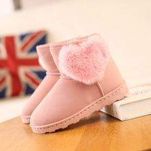 Зимние ботинки для девочек 2020 короткие детские зимняя обувь