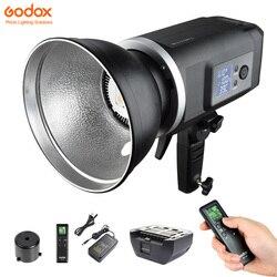 Godox SLB60 60W SLB60W SLB60Y LED Studio Photo Strobe Light +Li-ion Battery+Remote+Charger for Professional Photography Illumina