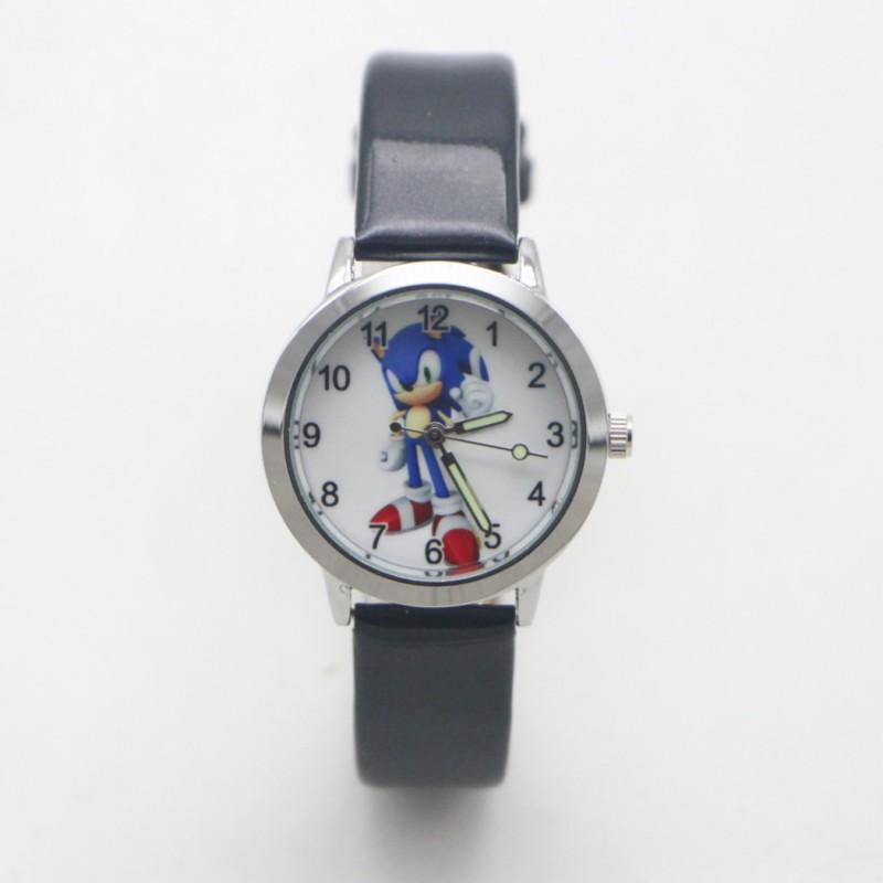 New Arrival Summer Fashion Kids Cartoon Sonic Lovely Watch Children Student Girls Boys Candy Watches Reloj Mujer Kol Saati