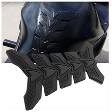 цены 3D Carbon Fiber Motorcycle Gel Oil Gas Fuel Tank Pad Protector Sticker Decal Fit For Honda Yamaha Kawasaki Suzuki Ducati