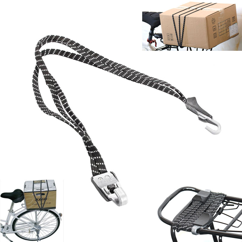 70cm Bike Luggage Elastic Rope Bicycle Accessories Cycling Hooks Bandage Belt Box Packing Rope Tie Equipment Bike Accessories