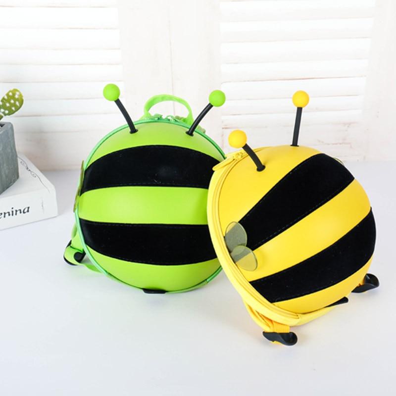Genuine Product Cute Kindergarten Children Anti Lost School Bag Small Bee Backpack Mini Cartoon Bag