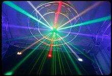 LED 80W + 48W Rgbw ย้าย DMX 512 ความสว่างสูงสำหรับ disco dance hall KTV stage night club DJ show วง