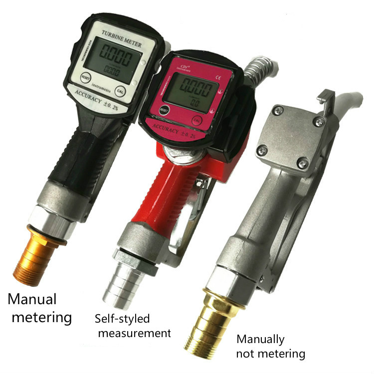 Electronic Metering Refueling Gun Gauge Self-sealing Refueling Gun Diesel Gasoline Methanol Automatic Jumping Gun