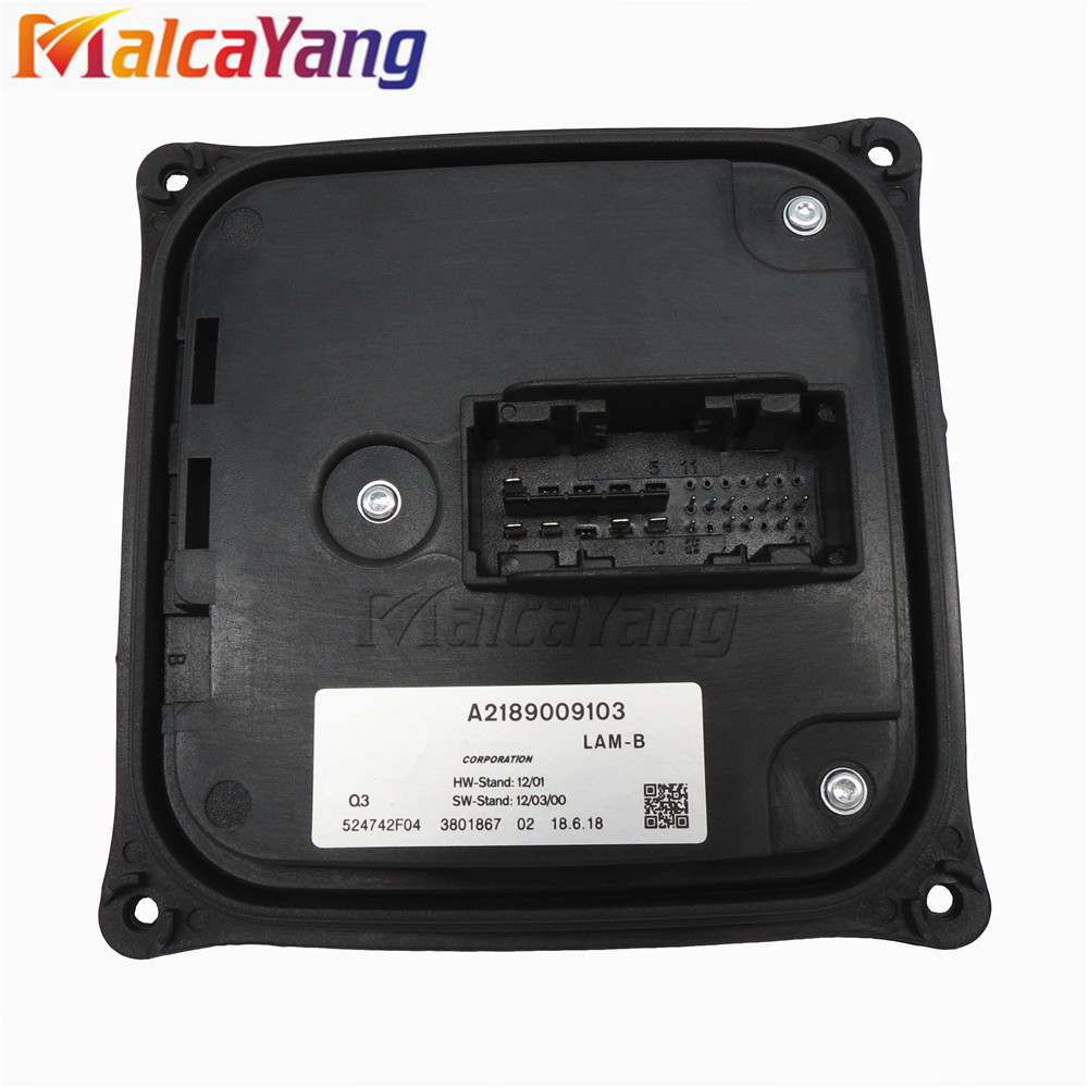 1pcs NEW LED Headlight Module For Mercedes-Benz C-CLASS W242 W246 DRL ILS Headlight Control Unit L-EAR LAM-B A2189009103