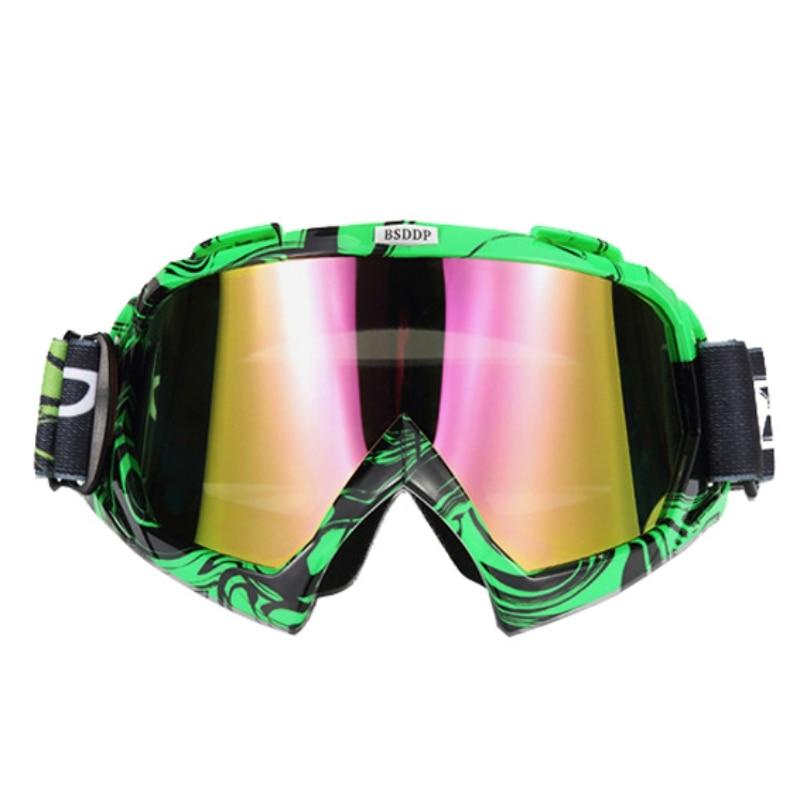 Winter Ski Goggles Windproof Dustproof UV Bicycle Road Racing Glasses Outdoor Ski Glasses New 1 Pcs