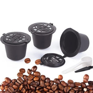 FILTER-CUP Refillable-Caps Coffee Capsule Dolce Gusto Nescafe Baskets-Pod 3pcs for Spoon