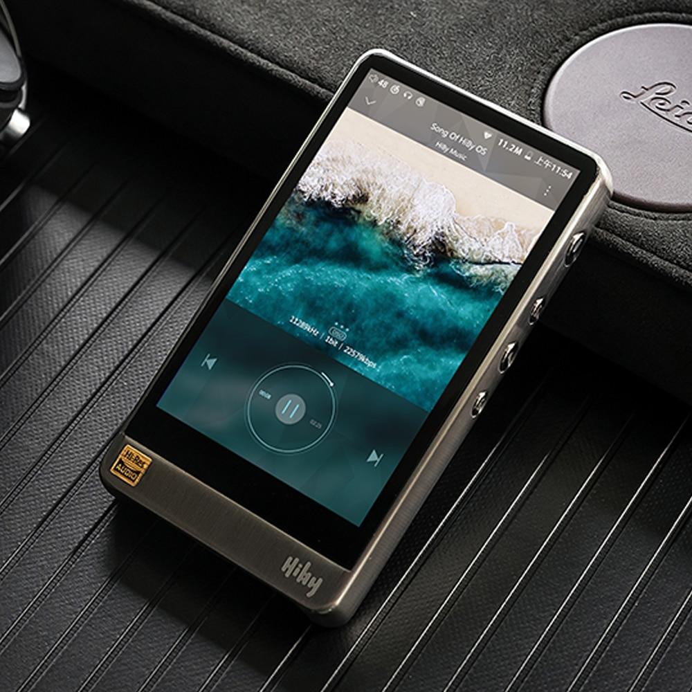 MP3-плееры HiBy R6Pro без потерь музыкальный плеер высокого разрешения цифровой аудио Привет-Fi Bluetooth музыка Ультра HD из нержавеющей стали