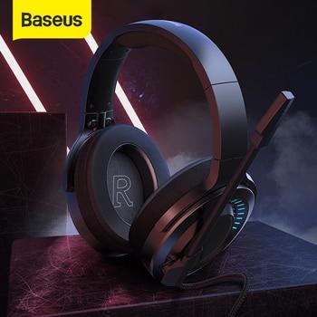 Baseus D05 3D Stereo Gaming Headphone USB/Type-C Colorful LED Light 1