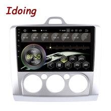 "Idoing 9 ""4G + 64G Car Multimedia Radio Gps Navigatie Android 10 Head Unit Voor Ford Focus 2 3 Mk2/Mk3 2004 2012 Geen 2 Din"