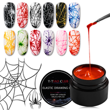 5ml Spider Gel Creative Wire Drawing Nail Gel Lacquer Point To Line Pulling Silk Spider Gel Polish Painting Nail Tips Manicure(China)