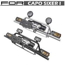 Parachoques delantero de Metal para coche de radiocontrol, piezas de coche de 1:6 Capo Sixer 1 Samurai