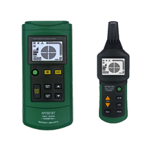 MY6818 AC/DC 12-400V Professional Cable Tracker Tester Finder Wire Short Circuit Breaker Fault Detector Metal Detector цена