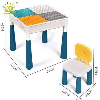 """Конструктор HUIQIBAO """"Многофункциональный стол с одним стулом"""" 2"""