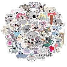 50 шт. Мультфильм животное коала серия наклейка водонепроницаемый самоклеящийся материал дети% 27s игрушка наклейка сделай сам скейтборд багаж