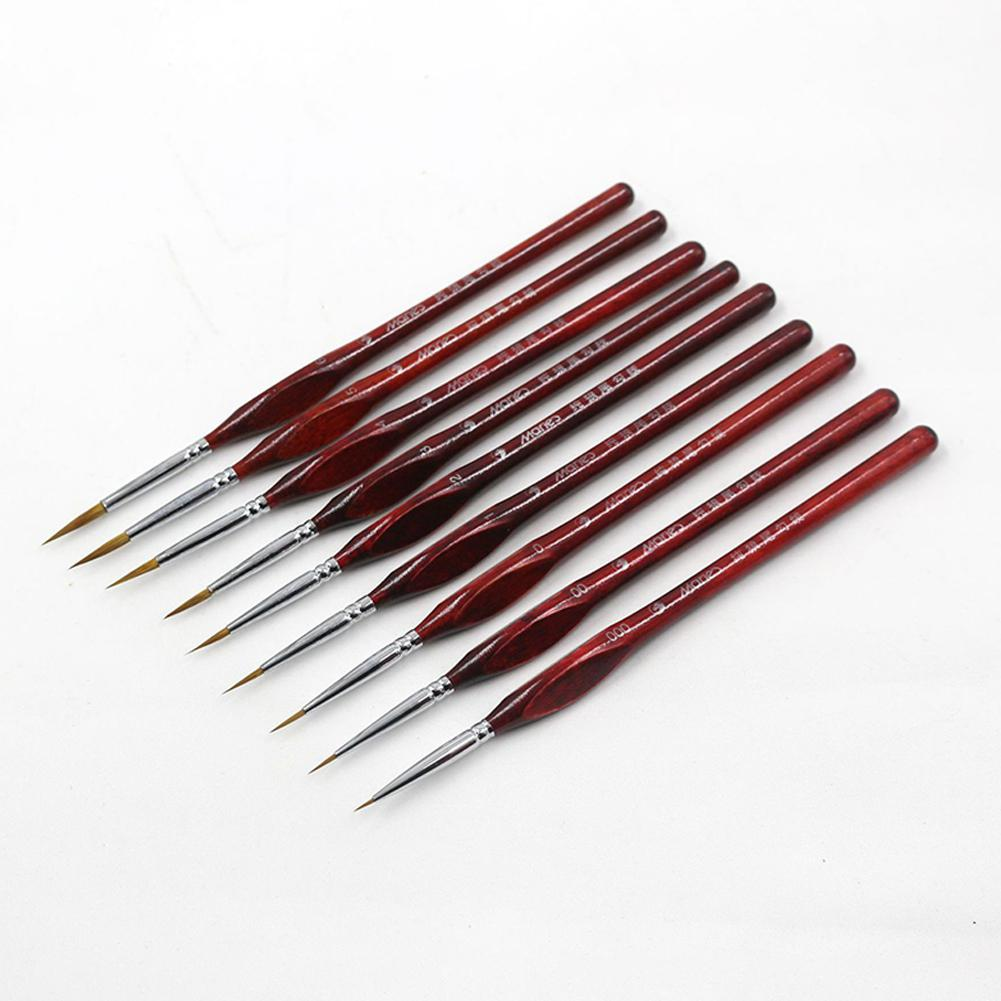 1pcs Professional Sable Hair Ink Oil Brush Paint Art Brushes For Drawing Gouache Oil Painting Brush Art Supplies