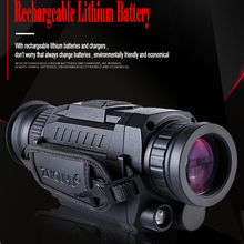 5X35 High Definition Night Vision Installation SD Memory Card Photo and Video can be used day night infrared telescope