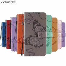 For Leather Cover LG K7 X210 X210DS MS330 Case LG Tribute 5 LS675 Case Wallet Back Cover Phone Case For LG K7 Dual SIM Case Flip cheap XIONGSIWEI Anti-knock Flip Case With Card Pocket Plain Floral