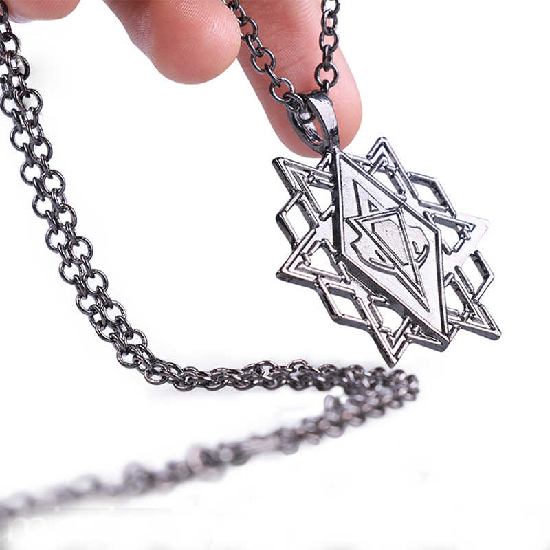 Assassins Creed Cosplay Accessory Stars Pendant Necklace 1 1 The
