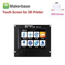 Elementos de impressão 3d MKS TFT28 V4.0 touchscreen Rep Rap controlador do painel colorido exibição SainSmart lcd monitor de tela de toque
