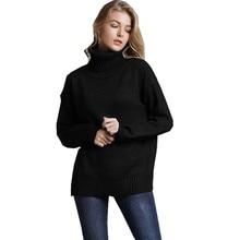 Turtleneck Cashmere Sweater Women Winter Full Sleeve Jumper Knitted Casual Sweaters Female Pulover Feminino Top E1920 pulover flora fedi href