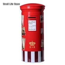 Креативные красные почтовые ящики копилка для девочек мультяшная