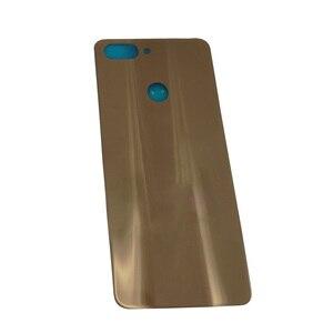 Image 3 - Preto/azul/ouro para zte lâmina v9 v0900 bateria traseira capa traseira porta habitação frete grátis