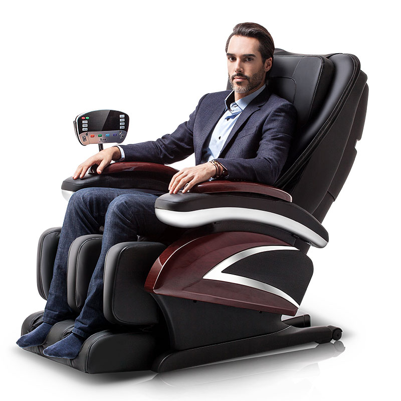 Massage Chair Household Whole Body Multifunction Space Capsule Fully Automatic Electric Sofa Kneading Elderly Massager S-Rail