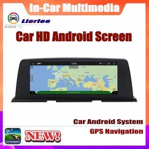 Image 5 - 6 Core نظام أندرويد تحديث نظام تحديد المواقع سيارة لسيارات BMW 6 Series F12 2013 ~ 2017 Autoradio الملاحة سيارة الوسائط المتعددة