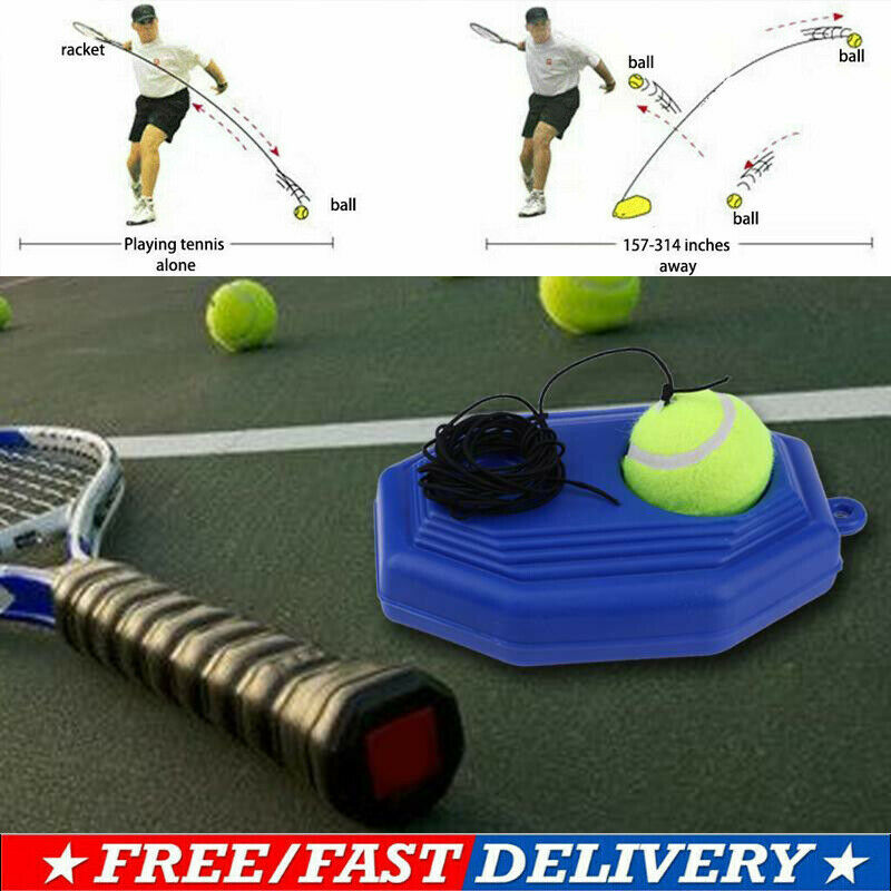 Tennis Supplies Trainer Self-study Aids Baseboard Player Practice Tool Supply With Elastic Rope Base Partner Sparring Device