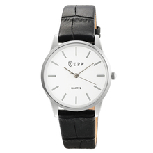 TPW Fashion Womens Watches Simple genuine leather Strap Lovers Quartz Wrist Watch Ladies Bracelet Clocks For Female Relogios