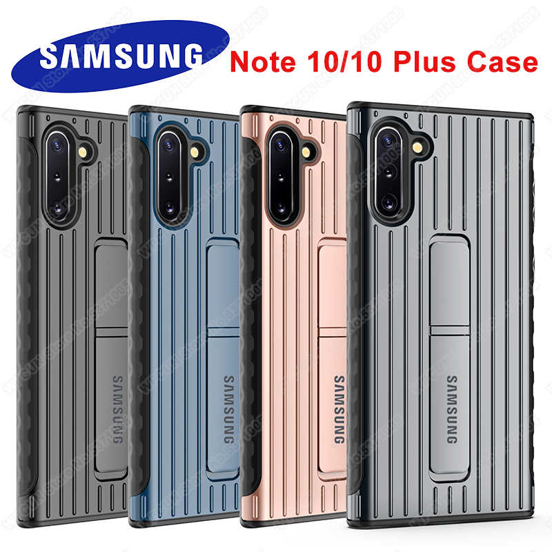 Samsung Galaxy Note 10 Plus Staande Case Ultimate Volledige Beschermhoes Voor Galaxy Note10 Plus Note10 + Tough Stand Armor cover