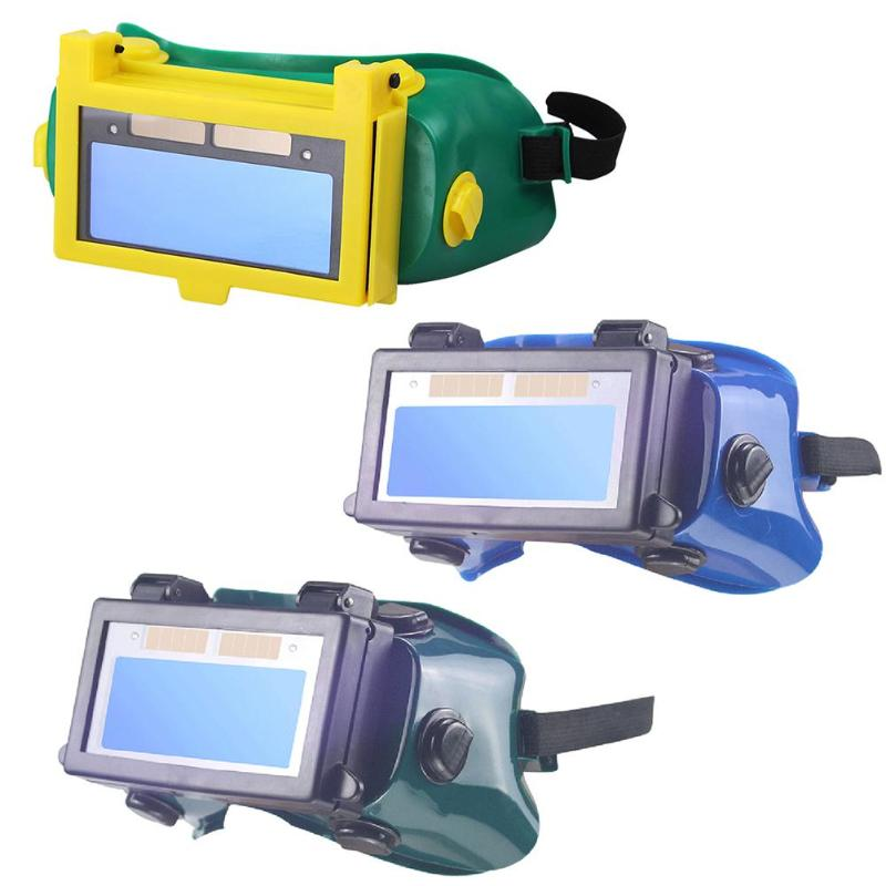 Solar Auto Darkening Eye Mask Welding Helmet Eye Glasses Goggles Welding Mask For Eyeshade/Patch/Eyes Goggles Welder