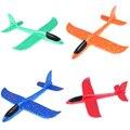 1 шт. EPP пена ручной бросок самолет Открытый Запуск планер самолет детский подарок игрушка 37 см интересные игрушки
