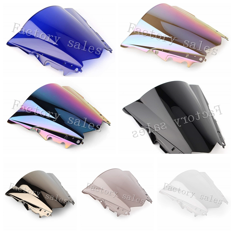 For Yamaha YZF R3 R25 2012 2013 2014 2015 2016 2017 2018 2019 Motorcycle Screen Windshield WindScreen R 25 3