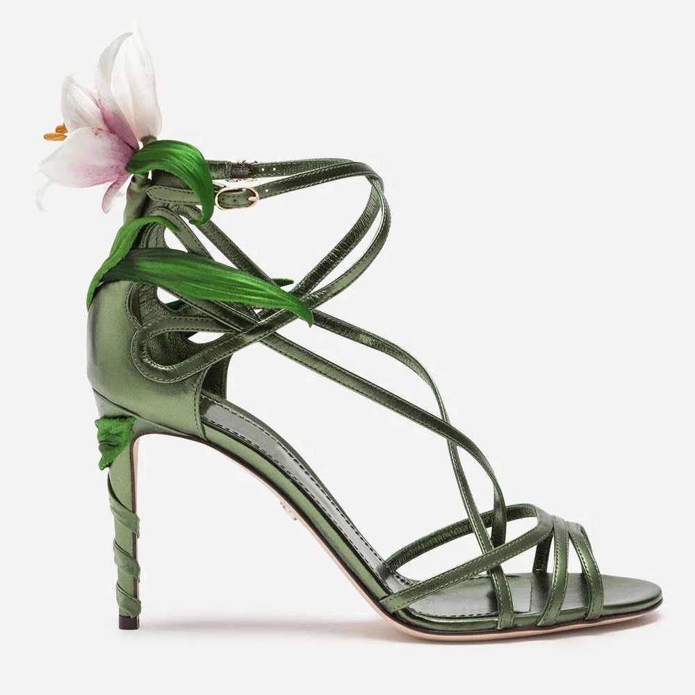 Sandalias sandalias mujer super salto alto sandálias mulheres sexy verão sandália feminina flor sapatos moda feminina zapatos de mujer