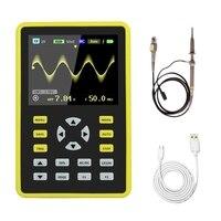 5012 h 2.4 polegada lcd tela portátil handheld digital mini osciloscópio com largura de banda 100 mhz e 500 ms/s taxa de amostragem Tela de exibição     -